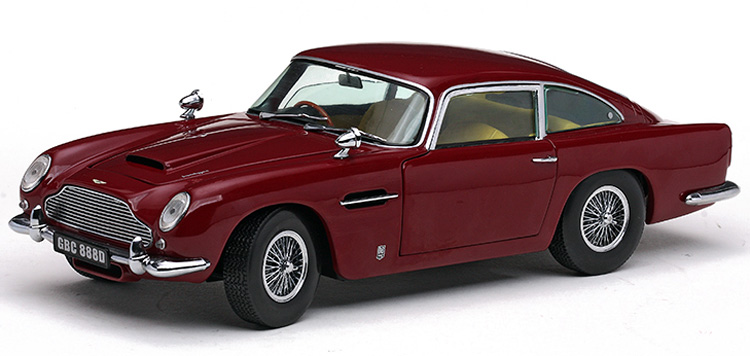 Модель 1:18 Aston Martin DB5 - dark red
