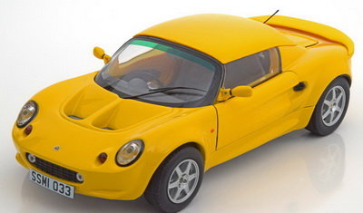 Модель 1:18 Lotus Elise 111S 1999 - yellow