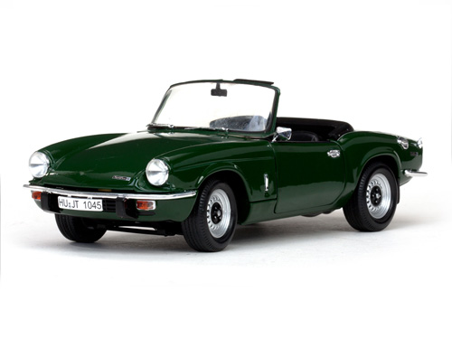 Модель 1:18 Triumph Spitfire MK4 Roadster - Laurel Green
