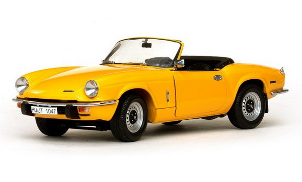 Модель 1:18 Triumph Spitfire MK4 Roadster - Yellow