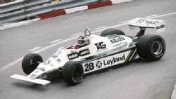 Модель 1:43 Williams Ford FW07B №28 GP Monaco (Carlos Reutemann - Alan Jones) KIT