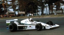 Модель 1:43 Williams Ford FW06 №27 USA EAST GP (Alan Jones) KIT