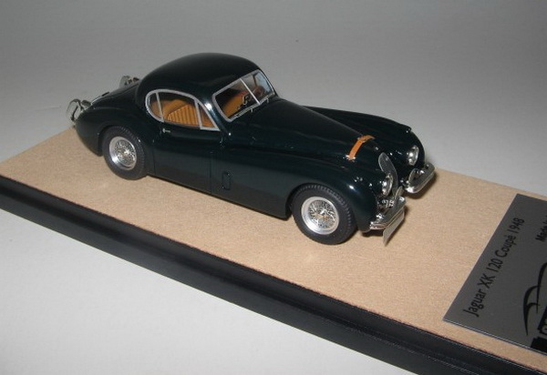 Модель 1:43 Jaguar XK 120 - british racing green