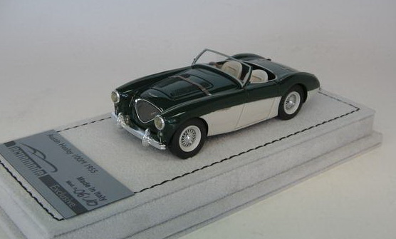 Модель 1:43 Austin Healey 100M Spider - green (L.E.10pcs)