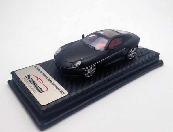 Модель 1:43 Alfa Romeo Disco Volante Touring - matt black (L.E.50pcs)