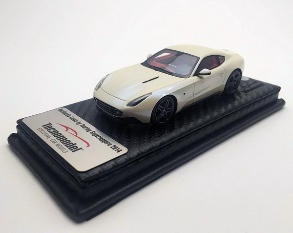 Модель 1:43 Touring Superleggera Berlinetta (Ferrari F 12) - New Body Design - white (L.E.50pcs)