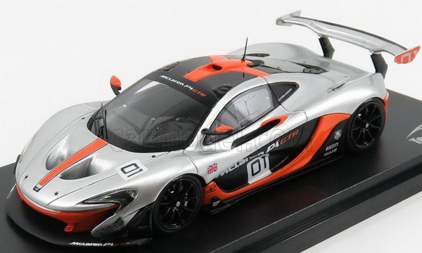 Модель 1:43 McLaren P1 GTR №01 PEBBLE BEACH CALIFORNIA COUNCORSE D'ELEGANCE