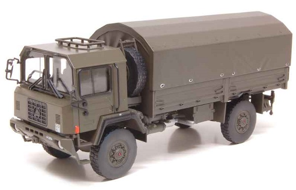 Модель 1:50 Saurer 6 DM 4X4 Canvas Militaire Swiss Army