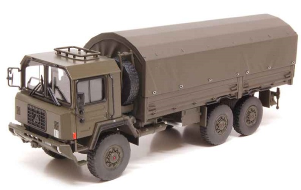 Модель 1:50 Saurer 10 DM 4X4 Canvas Militaire Swiss Army