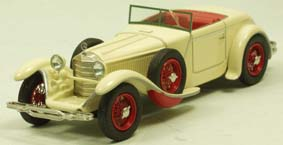 Модель 1:43 Mercedes-Benz 680 S 26/120/180 PS Torpedo Roadster Saoutchik Ch.№40156 Open top