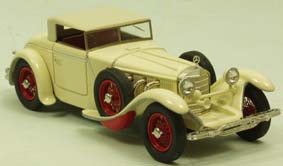 Модель 1:43 Mercedes-Benz 680 S 26/120/180 PS Torpedo Roadster Saoutchik Ch.№40156 Closed top