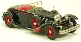 Модель 1:43 Mercedes-Benz 680 S 26/120/180 PS Torpedo Roadster Saoutchik Open top