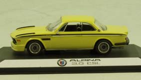 Модель 1:43 BMW Alpina 3.0 CSL (E9) - yellow