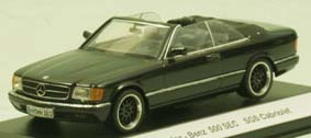 Модель 1:43 Mercedes-Benz 560SEC Cabrio Styling Garage - black