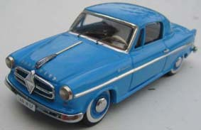 Модель 1:43 Borgward Isabella Coupe «Deutsch» - lightblue