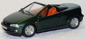 Модель 1:43 Opel Tigra Roadster - green