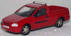 Модель 1:43 Opel Corsa B Pickup red