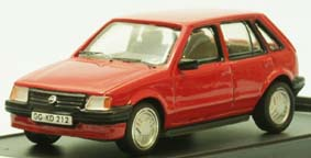 Модель 1:43 Opel Corsa A 5-door LHD - red