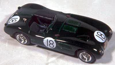 Модель 1:43 Jaguar C-Type №18 Winner Le Mans