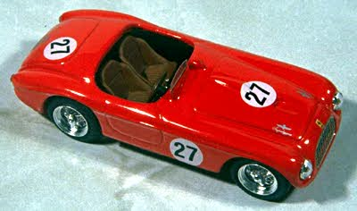 Модель 1:43 Ferrari 212 EXPORT №27 Winner TOURIST TROPHY