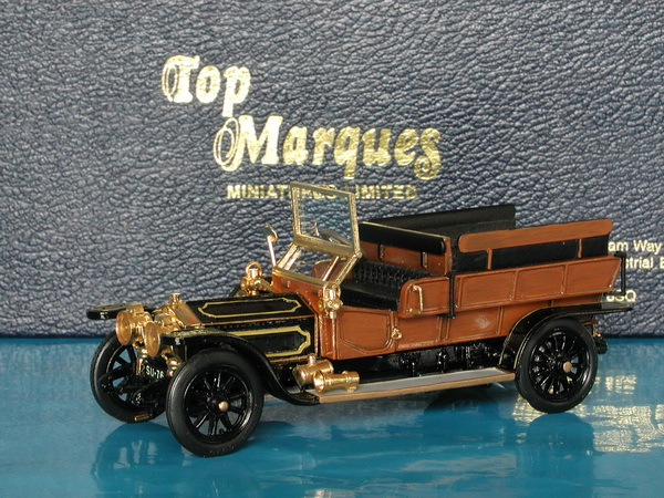 Модель 1:43 Rolls-Royce Silver Ghost Maudslay Wagonette Ch.№577 (L.E.43 of 50pcs)