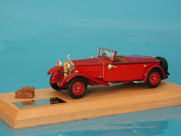 Модель 1:43 Rolls-Royce Phantom II 2 seater Sports Boattail Ch.№23GN - red
