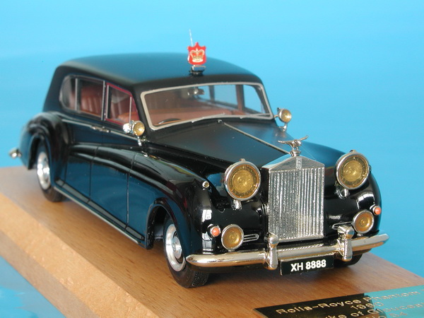 Модель 1:43 Rolls-Royce Phantom V 7 Str.Touring Limosine (J.Young) HRH Duke of Gloucester Chassis No. 5AT30 Ltd.ed. 125 1960
