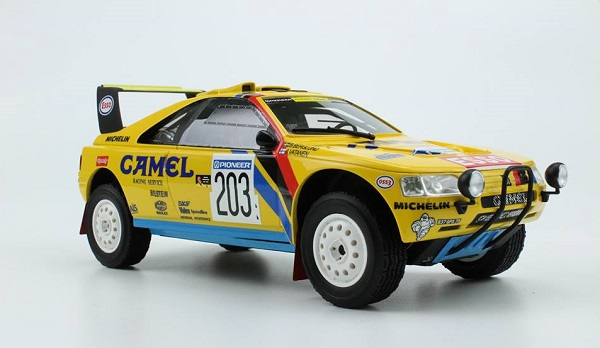 Модель 1:18 Peugeot 405 Turbo 16 №203 Winner Rally Paris Dakar (Ari Vatanen - Bruno Berglund)