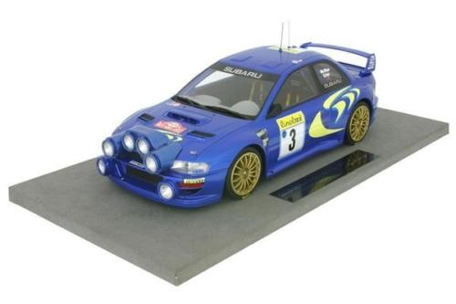 Модель 1:18 Subaru Impresa S4 WRC (night version) №3 3rd Winner Rallye Monte-Carlo (Colin McRae - Nicky Grist)