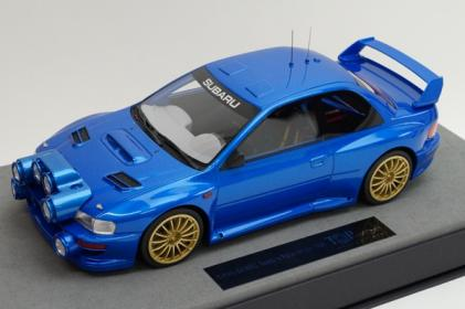 Модель 1:18 Subaru Impresa S4 WRC 2-doors base rally 1998