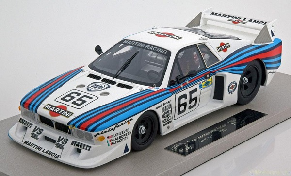 Модель 1:18 Lancia Beta Montecarlo Turbo №65 «Martini» 24h Le Mans (Cheever - Michele Alboreto - C.Facetti) (engineered by BBR, L.E.250pcs)