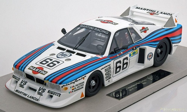 Модель 1:18 Lancia Beta Montecarlo Turbo №66 24h Martini Le Mans (Patrese - Heyer - Ghinzani) (L.E.250pcs engineered by BBR)