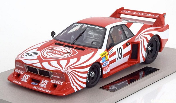 Модель 1:18 Lancia Beta Montecarlo No.19, Brands Hatch 1980 Röhrl/Patrese engineered by BBR, Limited Edition 200 pcs.