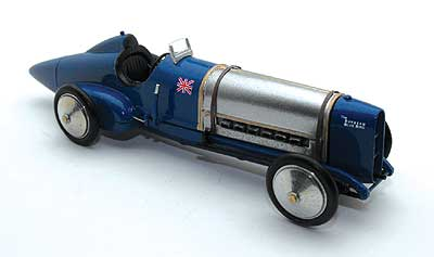 Модель 1:43 Sunbeam 350hp Bluebird Sir Malcolm Campbell's first Land Speed Record 1924