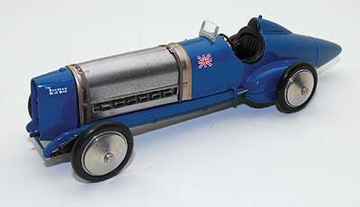Модель 1:43 Sunbeam 350hp Bluebird Sir Malcolm Campbell's first Land Speed Record 1924 - Fanoe Speed trials version