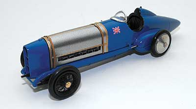 Модель 1:43 Sunbeam 350hp Bluebird Sir Malcolm Campbell's first Land Speed Record 1924 - Pendine Record version
