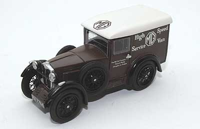Модель 1:43 MG High Speed Service Van support van for EX127 1932 Pendine Record Attempt.