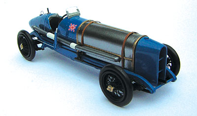 Модель 1:43 Sunbeam 350hp - Fanoe Speed Trials