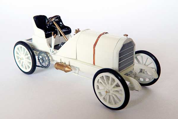 Модель 1:43 Mercedes 90hp Baron Pierre de Caters 25th May 1904, Ostend Belgium Land Speed Record 97.25mph