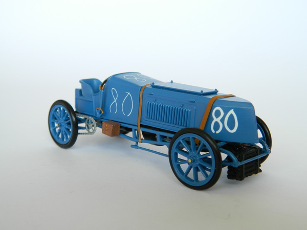 Модель 1:43 Gobron Brillie Arthur Duray July 17th Ostend Belgium. Land Speed Record 83.47mph