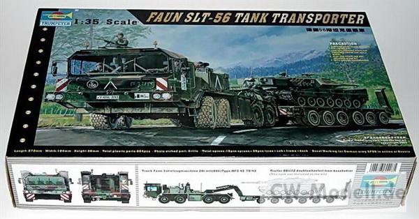 Trumpeter 00203 танковый транспортер фаун 1 35 диапазон дивизия элеватор плафон каморка кобура
