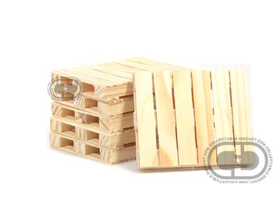 Модель 1:24 Pallet Set for Scale Cars