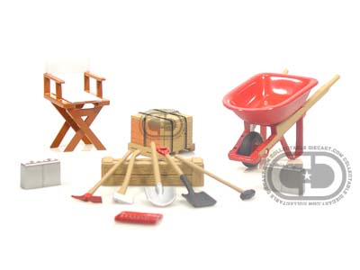 Модель 1:24 Construction Accessory Set Cars