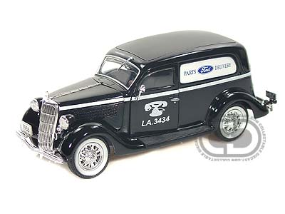 Модель 1:24 Ford Sedan Delivery Ford Parts Delivery Van Black