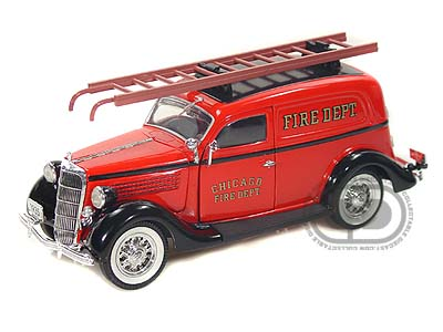 Модель 1:24 Ford Sedan Delivery «Chicago Fire Dept.» - red