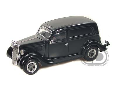 Модель 1:24 Ford Sedan - solid black
