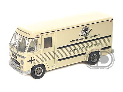 Модель 1:34 Divco Dividend Step Van Model 70 Delivery Van - yellow