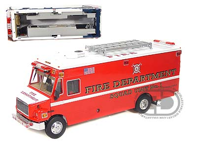 Модель 1:32 Freightliner MT-55 EMT Version Red Fire Department