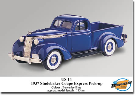 Модель 1:43 Studebaker PICK-UP - blue