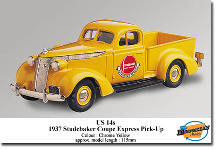 Модель 1:43 Studebaker PICK-UP - yellow